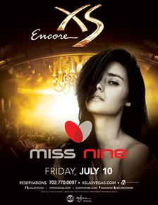 XS Nightclub Las Vegas, Featuring Miss Nine