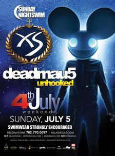XS Nightclub Las Vegas, Featuring Deadmau5