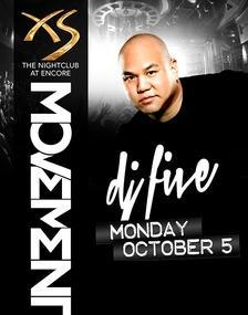XS Nightclub Las Vegas, Featuring DJ Five