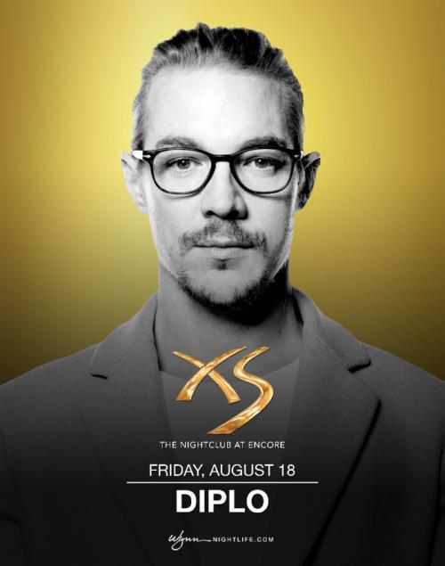 XS Nightclub Las Vegas, Featuring Diplo
