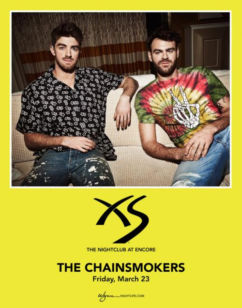 XS Nightclub Las Vegas, Featuring THE CHAINSMOKERS