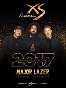 XS Nightclub Las Vegas, Featuring Major Lazer