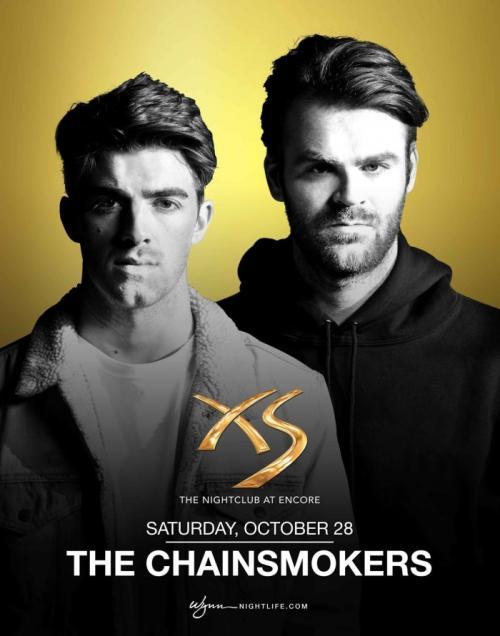 XS Nightclub Las Vegas, Featuring The Chainsmokers
