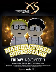 XS Nightclub Las Vegas, Featuring Manufactured Superstars