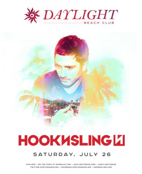 Daylight Beach Club Las Vegas, Featuring Hook N Sling