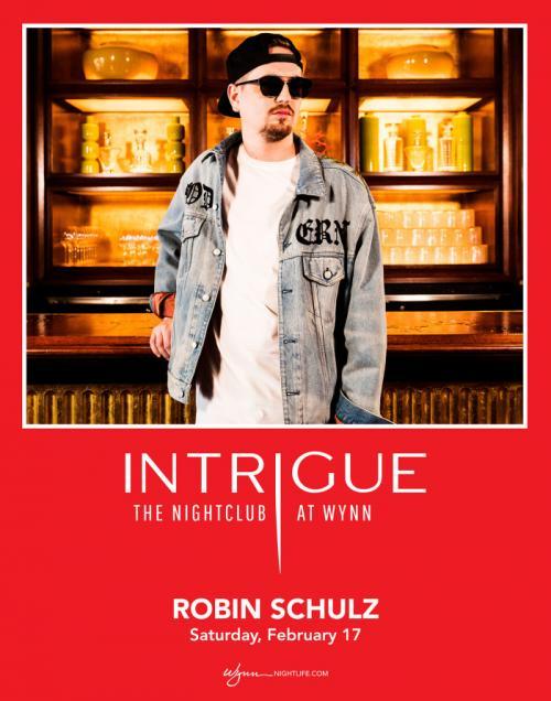 Intrigue Nightclub Las Vegas, Featuring ROBIN SCHULZ