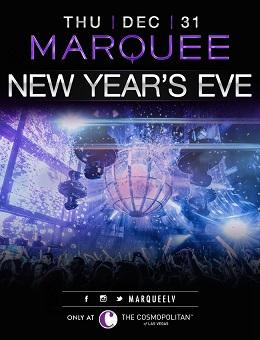 Marquee Nightclub Las Vegas, New Year's Eve