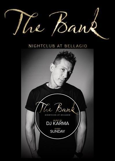 The Bank Nightclub Las Vegas, Featuring DJ Karma